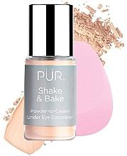Духи, Парфюмерия, косметика Консилер - Pur Shake & Bake Powder-to-Cream Under Eye Concealer