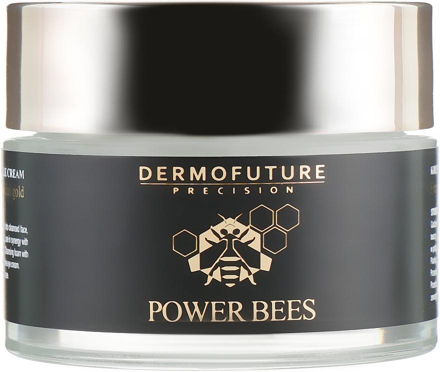 Защитный крем для лица против морщин - Dermofuture Power Bees Protective Anti-wrinkle Cream — фото N2