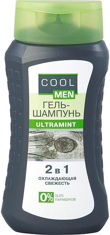 """Гель-шампунь """"Ultramint"""" 2в1 - Cool Men — фото N1"""
