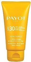 Духи, Парфюмерия, косметика Солнцезащитный антивозрастной крем для лица SPF 30 - Payot Sun Sensi Protective Anti-aging Face Cream