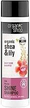 Духи, Парфюмерия, косметика Шампунь для волос - Organic Shop Organic Shea and Silk Shine Shampoo
