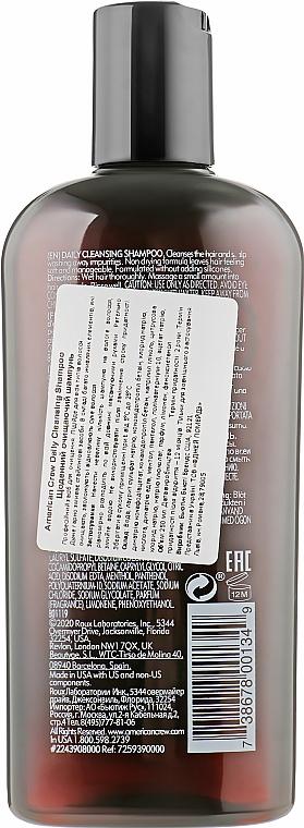 Шампунь для ежедневного использования - American Crew Daily Cleansing Shampoo — фото N2