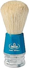 Духи, Парфюмерия, косметика Помазок для бритья, 10018, голубой - Omega