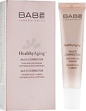 Духи, Парфюмерия, косметика Мультикорректор с антивозрастным эффектом для кожи вокруг глаз и губ - Babe Laboratorios Healthy Aging Multi Corrector