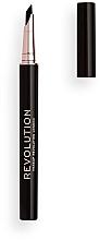 Духи, Парфюмерия, косметика Жидкая подводка для глаз - Makeup Revolution Flick and Go Eyeliner