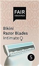 Духи, Парфюмерия, косметика Сменные кассеты для бритья - Fair Squared Bikini Razor Blades