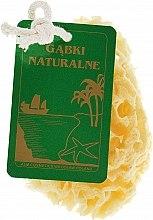 Духи, Парфюмерия, косметика Натуральная губка, средняя желтая - Organique