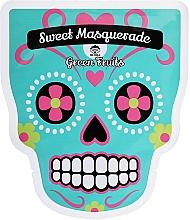 Духи, Парфюмерия, косметика Тканевая маска для лица - Dr Mola Sweet Masquarade Green Fruits mask