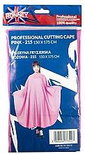 Духи, Парфюмерия, косметика Парикмахерская накидка, розовая - Ronney Professional Cutting Cape