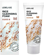 Духи, Парфюмерия, косметика Рисовая пенка - Lebelage Rice Cleansing Foam