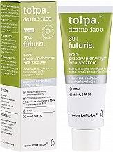 Духи, Парфюмерия, косметика Дневной крем для лица от первых морщин SPF30 - Tolpa Dermo Face Futuris 30+ Face Cream SPF30
