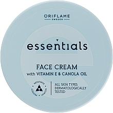 Духи, Парфюмерия, косметика Увлажняющий крем для лица - Oriflame Essentials Face Cream With Vitamine E And Canola Oil