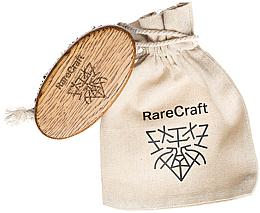Духи, Парфюмерия, косметика Щетка для бороды из дуба, 11.5 х 6 см - RareCraft