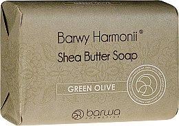 Духи, Парфюмерия, косметика Мыло с экстрактом зеленых оливок - Barwa Harmony Green Olive Soap