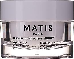 Духи, Парфюмерия, косметика Интенсивно увлажняющая гелевая маска для лица - Matis Reponse Corrective Night Reveal 10 Overnight Corrective Mask