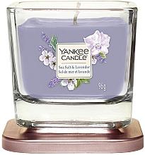 Духи, Парфюмерия, косметика Ароматическая свеча - Yankee Candle Elevation Sea Salt & Lavender