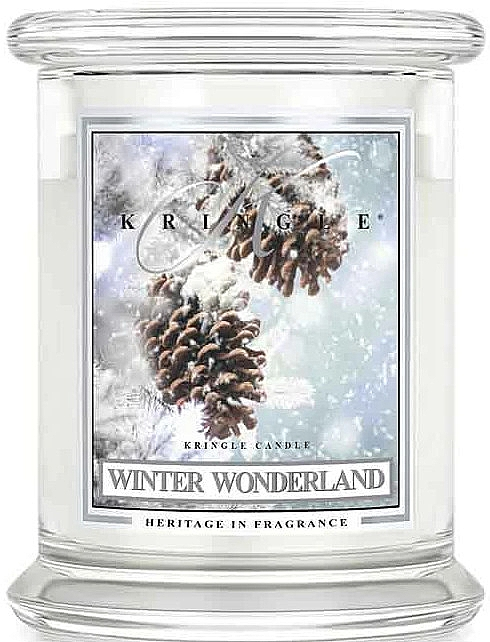 Ароматическая свеча в банке - Kringle Candle Winter Wonderland — фото N1