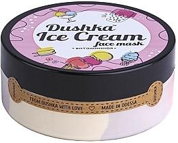 "Маска для лица ""Витаминная"" - Dushka Ice Cream Mask — фото N4"