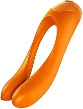 Духи, Парфюмерия, косметика Вибратор на палец, оранжевый - Satisfyer Candy Cane Finger Vibrator Orange