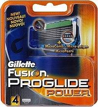 Духи, Парфюмерия, косметика Сменные кассеты для бритья, 4 шт. - Gillette Fusion ProGlide Power