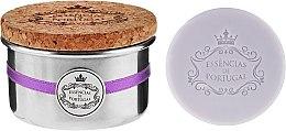Духи, Парфюмерия, косметика Натуральное мыло - Essencias De Portugal Tradition Aluminum Jewel-Keeper Lavender