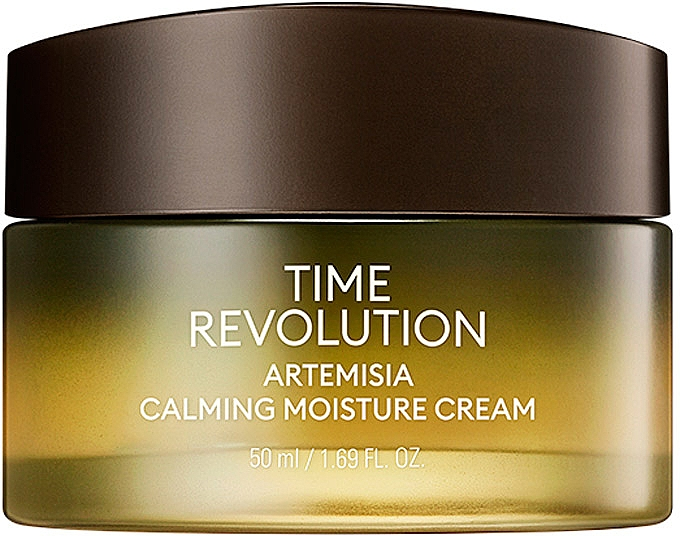 Успокаивающий крем - Missha Time Revolution Artemisia Calming Moisture Cream — фото N1