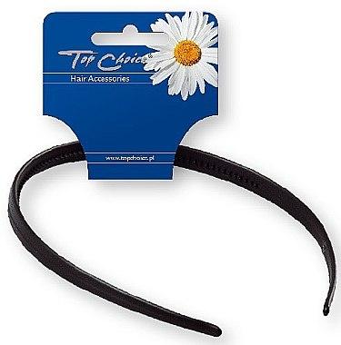 Обруч для волос 27697, черный - Top Choice Hair Headband — фото N1