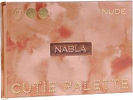 Духи, Парфюмерия, косметика Палетка теней для век - Nabla Cutie Collection Palette Nude