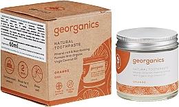 Духи, Парфюмерия, косметика Детская натуральная зубная паста - Georganics Red Mandarin Natural Toothpaste