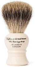 Духи, Парфюмерия, косметика Помазок для бритья, P2233, бежевый - Taylor of Old Bond Street Shaving Brush Pure Badger size S