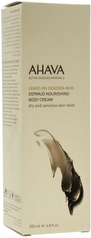 Крем питательный для тела - Ahava Dermud Nourishing Body Cream — фото N1