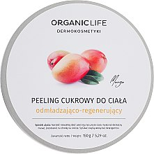 Духи, Парфюмерия, косметика Сахарный пилинг для тела омолаживающий - Organic Life Dermocosmetics Scrub