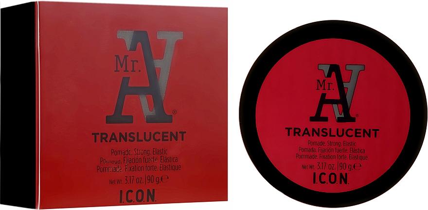 Помада для волос сильной фиксации - I.C.O.N. MR. A. Transclucent Pomade Strong Elastic — фото N1