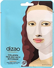 "Духи, Парфюмерия, косметика Бото-маска для лица и шеи ""Коллаген"" - Dizao Collagen Face & Neck Botomask"