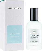 Духи, Парфюмерия, косметика Глубоко увлажняющий тонер для лица - Thank You Farmer True Water Toner