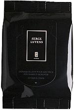 Духи, Парфюмерия, косметика Салфетки для снятия макияжа с глаз - Serge Lutens Eye Makeup Remove