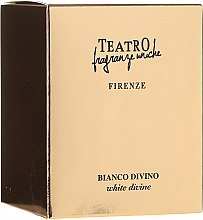 Духи, Парфюмерия, косметика Ароматическая свеча - Teatro Fragranze Uniche Bianco Divino Scented Candle