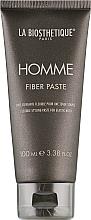 Духи, Парфюмерия, косметика Паста-тянучка для волос с атласным блеском - La Biosthetique Homme Fiber Paste