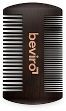 Духи, Парфюмерия, косметика Щетка для бороды - Beviro Pear Wood Beard Comb