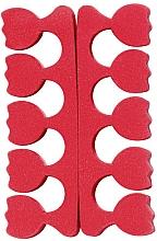 Духи, Парфюмерия, косметика Разделители для пальцев ног в виде тюльпанов, красные - Peggy Sage