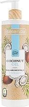 Духи, Парфюмерия, косметика Увлажняющий лосьон для тела - Bielenda Coconut Oil Moisturizing Body Lotion