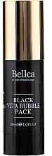 Духи, Парфюмерия, косметика Пузырьковая гель-маска для лица - Bellca Black Vita Bubble Pack