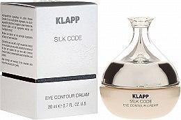 Духи, Парфюмерия, косметика Крем для зрелой кожи век - Klapp Silk Code Eye Contour Cream