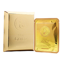 Духи, Парфюмерия, косметика Маска тканевая с золотом и секретом улитки - Elizavecca 24k Gold Water Dew Snail Mask