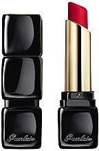 Духи, Парфюмерия, косметика Матовая помада для губ с эффектом сияния, 16 часов комфорта - Guerlain KissKiss Tender Matte Lipstick