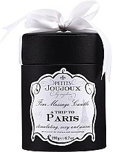 Духи, Парфюмерия, косметика Массажная свеча - Petits Joujoux A Trip To Paris Massage Candle