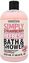 """Духи, Парфюмерия, косметика Гель для душа """"Освежающая клубника"""" - Creightons Simply Strawberry Refresh Bath & Shower"""