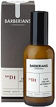 Духи, Парфюмерия, косметика Крем для лица и после бритья - Barberians. №D1 Face Cream & Aftershave