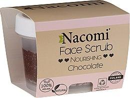 Духи, Парфюмерия, косметика Увлажняющий скраб для лица и губ - Nacomi Moisturizing Face&Lip Scrub Chocolate