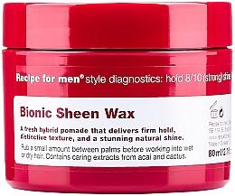 Духи, Парфюмерия, косметика Воск для сияния волос - Recipe for Men Bionic Sheen Wax